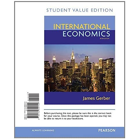 International Economics, Student Value Edition (5th Edition)