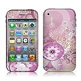 Xtra-Funky Exclusif Couverture florale rose Désign à la mode haute qualité de protection autocollant de décalque vinyle pour Apple iPhone 3 / 3G / 3GS