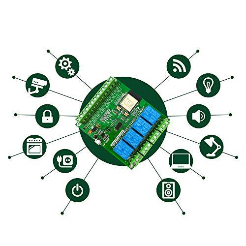 Relay Hausautomation PCBA IoT Control Überwachung Verwenden Sie Arduino Code Development Board WIFI Bluetooth ESP32 IDF -