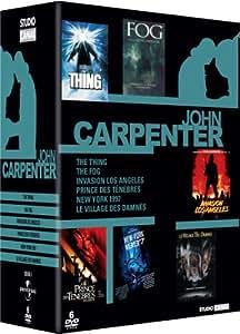John Carpenter - Coffret - Fog + Invasion Los Angeles + New York 1997 + Prince des Ténèbres + The Thing + Le villlage des damnés