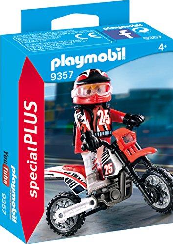 Playmobil 9357 - Motocross-Fahre...