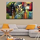 #2: Uni Fashion Fair Style Crome Canvas Paintings Digital HD Printed and Framed (Wood, 31 * 21 inches, Multicoloured) for Home /Wall Decor