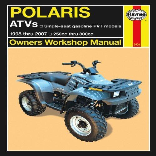 Polaris Atv Owners Manual (Polaris ATVs: 1998 thru 2007 250cc thru 800cc (Owners' Workshop Manual) by Alan Ahlstrand (2011-11-11))