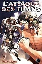L'Attaque des Titans T19 de Hajime Isayama
