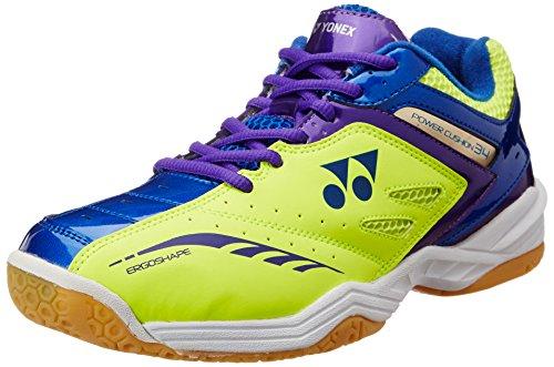 Yonex SHB 34EX Badminton Shoes, UK 9 (Yellow/Blue)