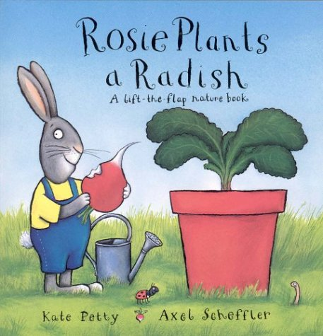 Rosie plants a radish