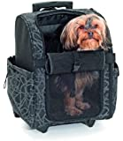 Karlie Smart Trolley City, Transporttrolley für Hunde aus Nylon, 32 x 29 x 52 cm, schwarz