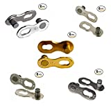 KMC Missing Link 6,7,8,9,10,11 Speed (SILVER/GOLD) 6 Pairs...