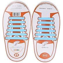 Footful - Cordones de zapatos de Caucho