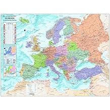 Europe Wall Map (Continental Wall Map)