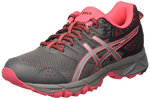 Asics Women's Gel-Sonoma 3 Sneakers, Grey (Carbon/Silver/Diva Pink), 6 UK