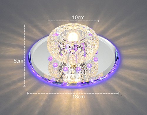 Plafoniere Per Scale : Gry plafoniera di cristallo alta qualità moderna mini