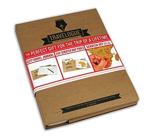 LYXY Arañazos Deluxe regalo perfecto de Navidad del mapa del viaje / de la Navidad para el viajero
