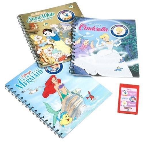 Story Reader Princess 3 Pack Cinderella/Snow White/Mermaid by Publication International (Story-reader Toy Story 3)