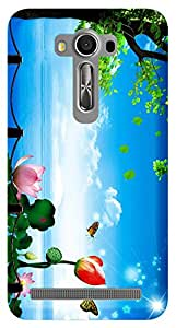 TrilMil Printed Designer Mobile Case Back Cover For Asus Zenfone 2 Laser ZE550KL
