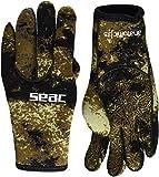 SEAC Anatomic Gloves, Guanti da Sub in Neoprene da 3.5 Mm per Pesca Subacquea in Apnea Unisex - Adulto, Camo Marrone, M