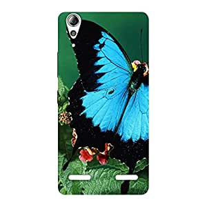 Flower Butterfly Back Case Cover for Lenovo A6000 Plus