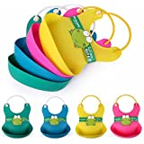 Multicolors Baby Bibs Waterproof Feeding Baby Saliva Towel Apron For Newborn Silicone Aprons Baby Bibs/Silicon Bibs/Baby Bibs / Bibs /Waterproof Baby Bibs-Cloudmall