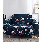 House of Quirk Universal Single Seater Sofa Cover Big Elasticity Cover for Couch Flexible Stretch Sofa Slipcover Floral Print