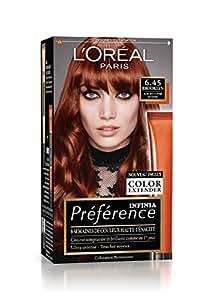 Préférence L'Oréal Paris Coloration Permanente 6.45 Auburn Cuivré Intense