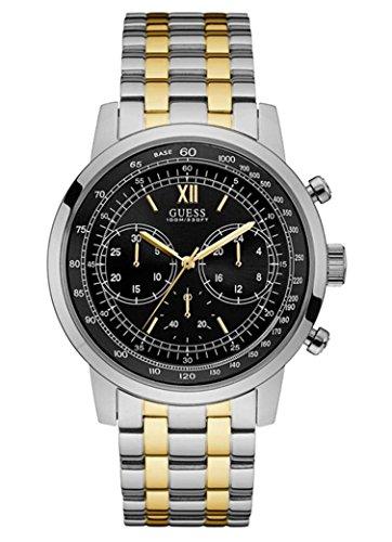 Guess Orologio Cronografo Quarzo Uomo con Cinturino in Acciaio Inox W0915G2