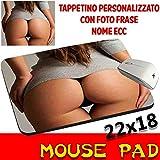 Sexy Mauspad Maus Pad Po Erotik Frau personalisierbar mit Foto, Logo..