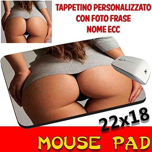 Preisvergleich Produktbild Sexy Mauspad Maus Pad Po Erotik Frau personalisierbar mit Foto, Logo..