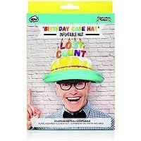 NPW Birthday Cake Party Hat - Inflatable Birthday Hat Adult Celebration Nation