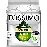 Tassimo Jacobs Krönung XL, Rainforest Alliance Vérifié, Lot de 5, 5 x 16 T-Discs