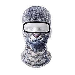 Idea Regalo - VERTAST Balaclava, 3D Animale Attivo Passamontagna per Lo Sci Ciclismo Motociclista Casco Fodera Camminata Campeggio Caldo scaldaschermo (Cat Boy)