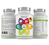 Powerfuel Kapseln - 60x Superfood-Mix To-Go mit OPC, Acerola, Heidelbeere, Acai,...