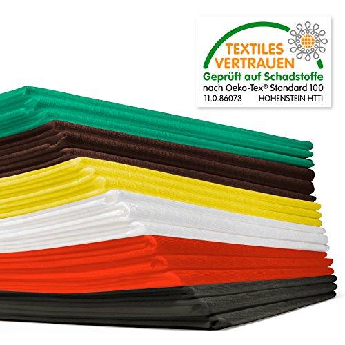 Waschfaserlaken ACTIV (300x waschbar) 10 St.+2 Laken GRATIS (80×210 cm, weiß) Waschvlies / Vlieslaken – OEKO-TEX® geprüft – ORIGINAL Dr. Güstel - 5