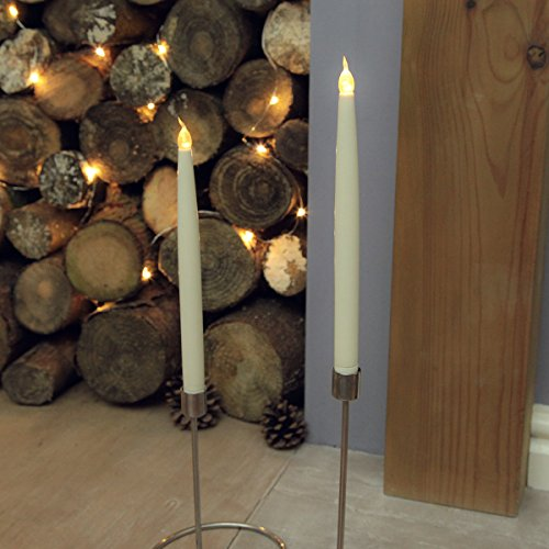 2-battery-operated-275cm-tall-flickering-taper-led-wax-candles-by-festive-lights-275cm