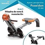 skandika Regatta Multi Gym Poseidon - máquina Remo -...