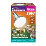 Arcadia - D3 UV Basking Lampe, E27 - 80W