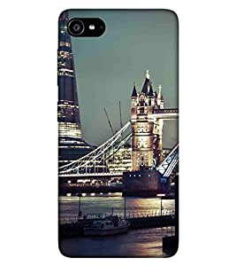 For Lenovo ZUK Z2 :: Lenovo Zuk Z2 Plus beautiful city, beautiful building, bridge Designer Printed High Quality Smooth Matte Protective Mobile Case Back Pouch Cover by APEX