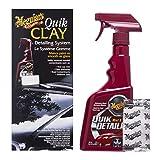 Meguiar`s ME G1116 Clay Starter Kit Quik Détailler, 50 g/473 ml