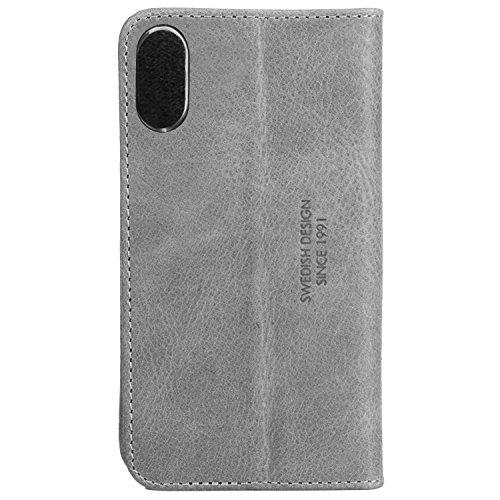 Krusell 61100 Sunne 4 Schutzhülle für Apple iPhone X Rot Grau