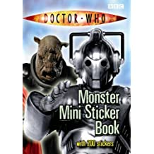 Doctor Who: Mini Monsters Sticker Book