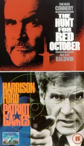 The Hunt For Red October/Patriot Games [VHS] [1990]