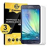 [3 Stück] Samsung Galaxy A3 2015 Panzerglas Displayschutzfolie, Nearpow Schutzfolie 9H Härte, Anti-Kratzen, Anti-Öl, Anti-Bläschen, Anti-Fingerabdruck