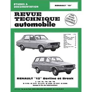 Revue Technique 352.5 Renault 12-12 Tr-12 Ts et Break (71/80)