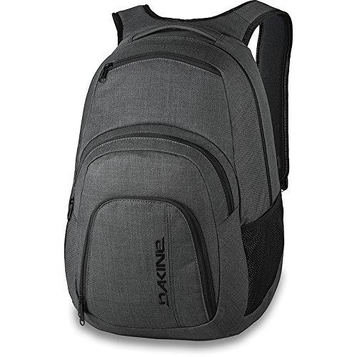 c3fc5ddd400c2 DAKINE 2er SET Laptop Rucksack CAMPUS LG + SCHOOL CASE Mäppchen Carbon -  schultasche.im-shop.eu