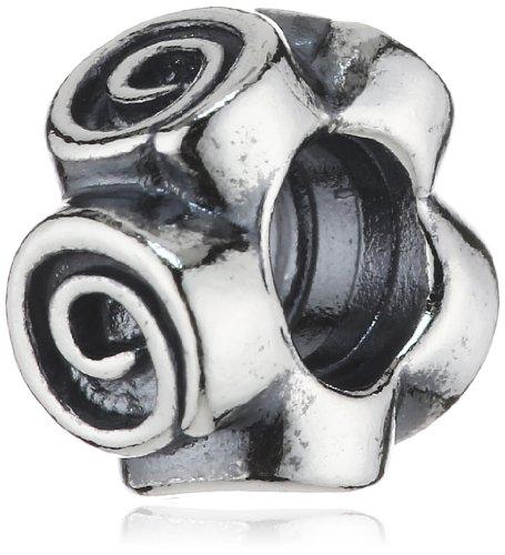 Pandora Damen-Bead Zwischenelement abstrakte Rosen Sterlingsilber 790970