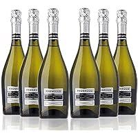 San Jamón San Martino Prosecco Doc Treviso Extra Dry - Paquete de 6 x 750 ml - Total: 4500 ml