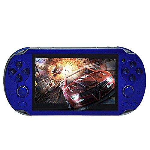 Zantec Handheld Spielkonsole, 4,3 Zoll Multi-Funktion Portable Game ,4Gb Speicher Errichtet in Videokamera ,Verschiedene Nichtwiederholungsspiele (4 Gb Psp-speicher)