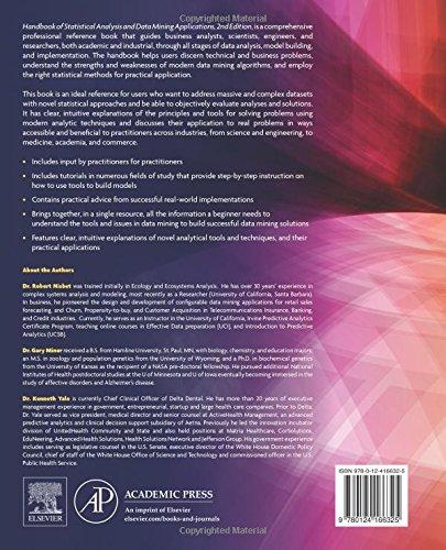 PDF Epub Handbook of Statistical Analysis and Data Mining