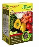 Hauert HBG Dünger 803571 Biorga Gemüsedünger Sphero-Granulat, 1,5 kg