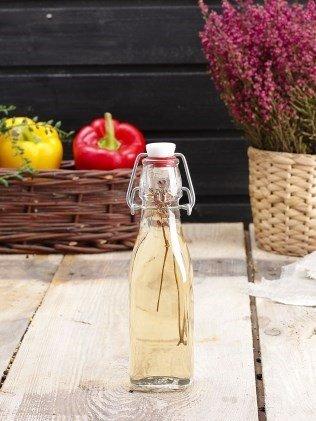 Swing Top Flasche 250ml Olive von Öl Essig Flüssigkeiten (Swing-top-glas-flaschen)