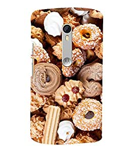 ifasho Designer Back Case Cover for Motorola Moto X Style :: Moto X Pure Edition (Cake Houston (Tx) Usa Osmanabad)